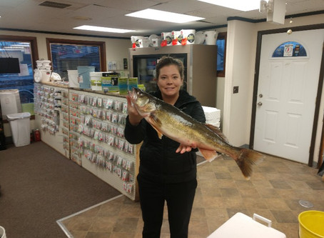 Fishing report for 4-17-2019