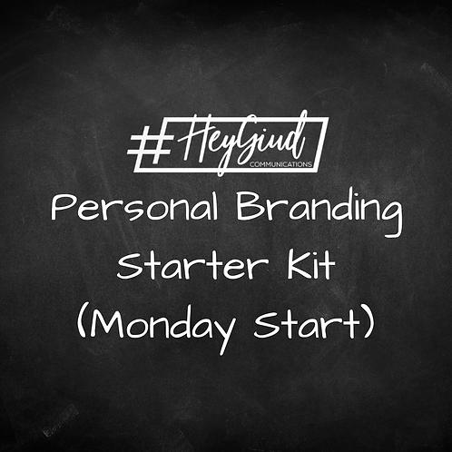 Personal Branding Starter Kit - Monday Start