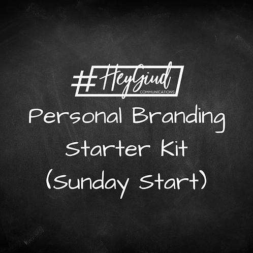 Personal Branding Starter Kit (Sunday)