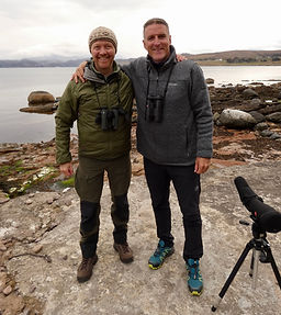 Simon Pawsey & Iolo Williams, Cairngorms Birding