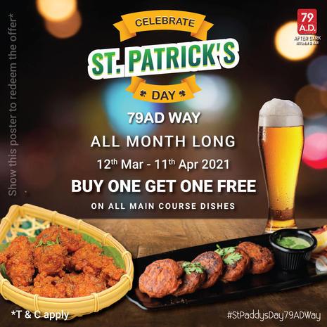 St Patrick Promo - Food