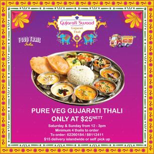 FOOD TRAIL INDIA - GUJARAT