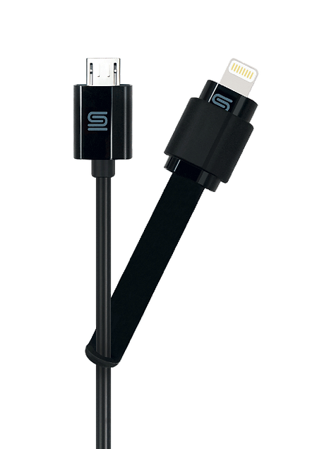 CABLECHARGE MULTI, Micro USB Cable with Lightning Adapter