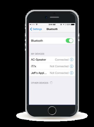 Bluetooth speaker easy pairing