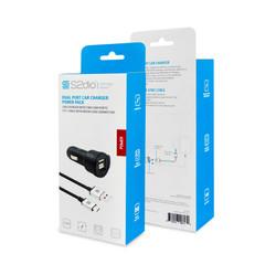 High Power 4.8A Dual USB Car Charger