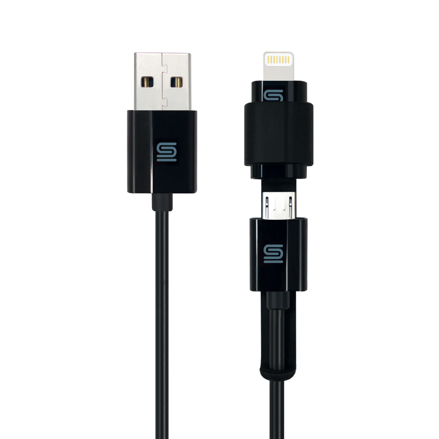 Micro USB Cable, Lightning Adapter