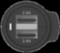 AUTODUAL 24, High Power 4.8A Dual USB Car Charger
