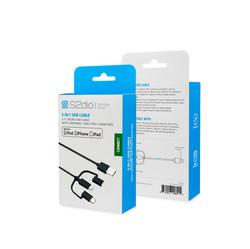 Micro USB Cable, Lightning & Type-C