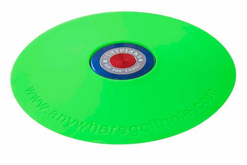 anywheregolfhole in Liquid Green & PuttPucks Practice Set