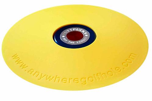 anywheregolfhole in Lightning Yellow & PuttPucks Practice Set