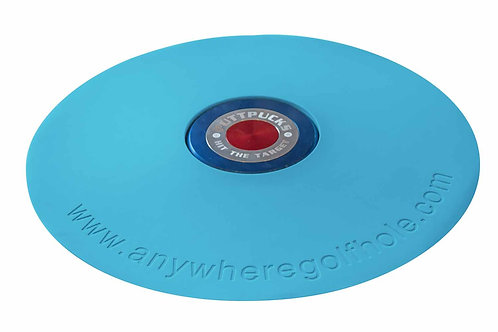 anywheregolfhole in Dinamic Blue & PuttPucks Practice Set