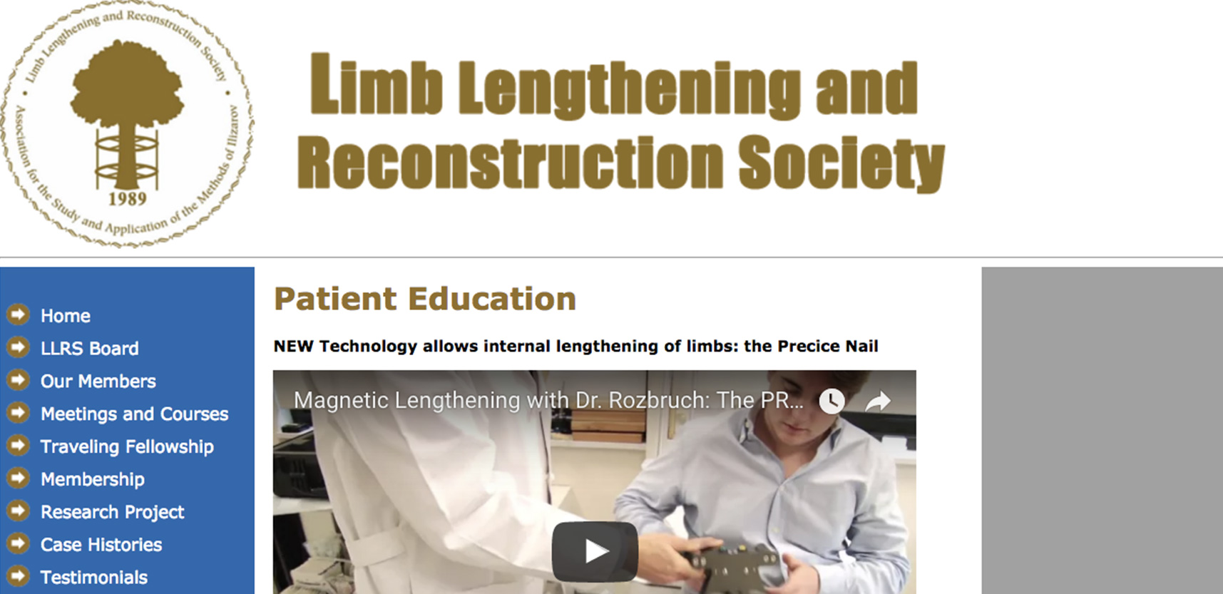 Limb Lengthening Society
