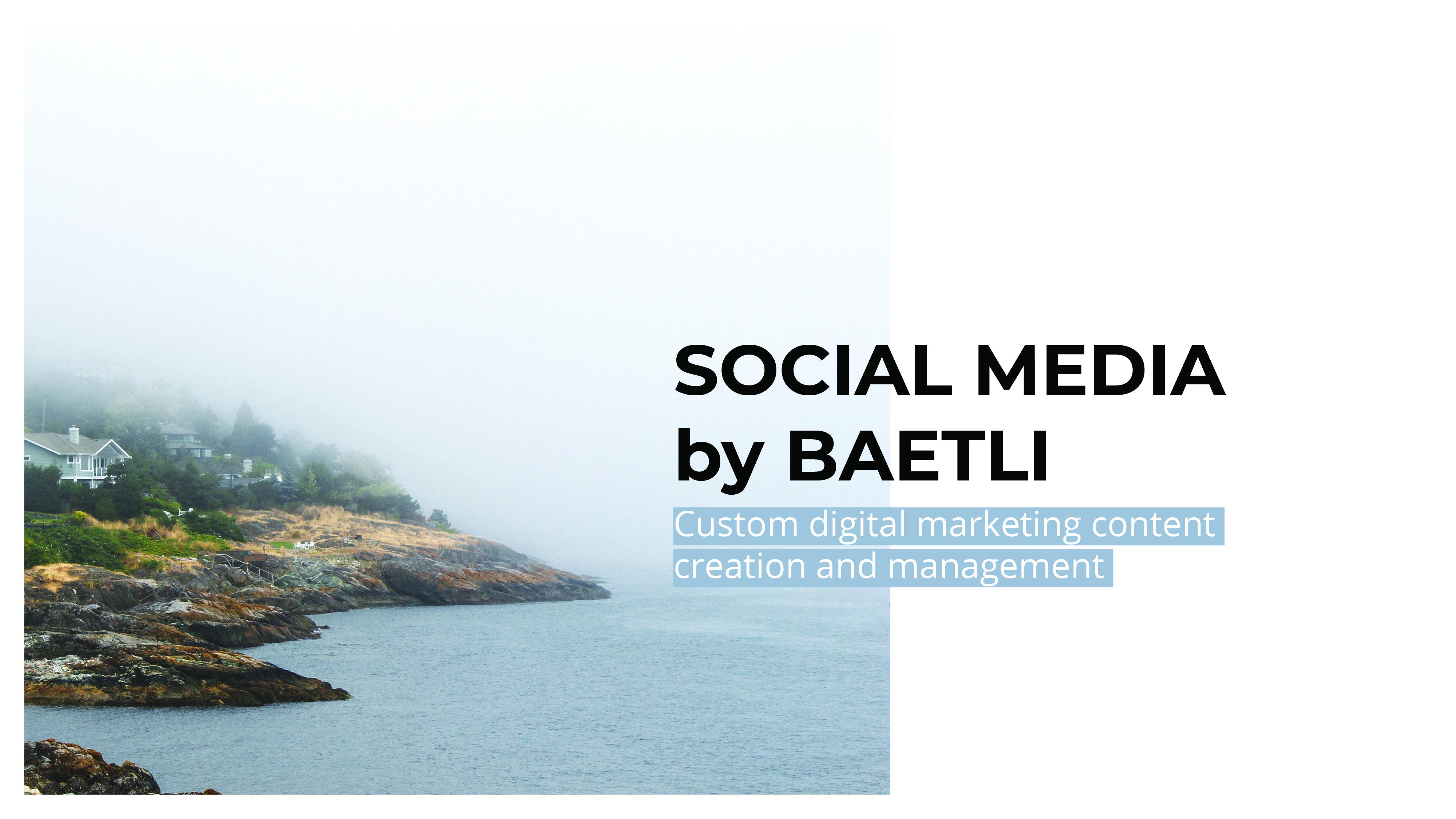 Social Media by BAETLI