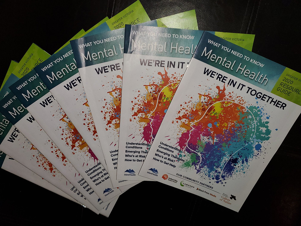 """Mental Health Booklets, """"We're In It Together"""" Published by Black Press Media"""