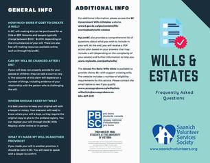 UVic Pro Bono Student's Project: Wills & Estates