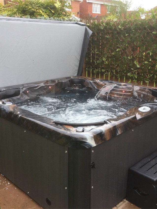 Cabo hottub in Midnight Canyon in Consett.