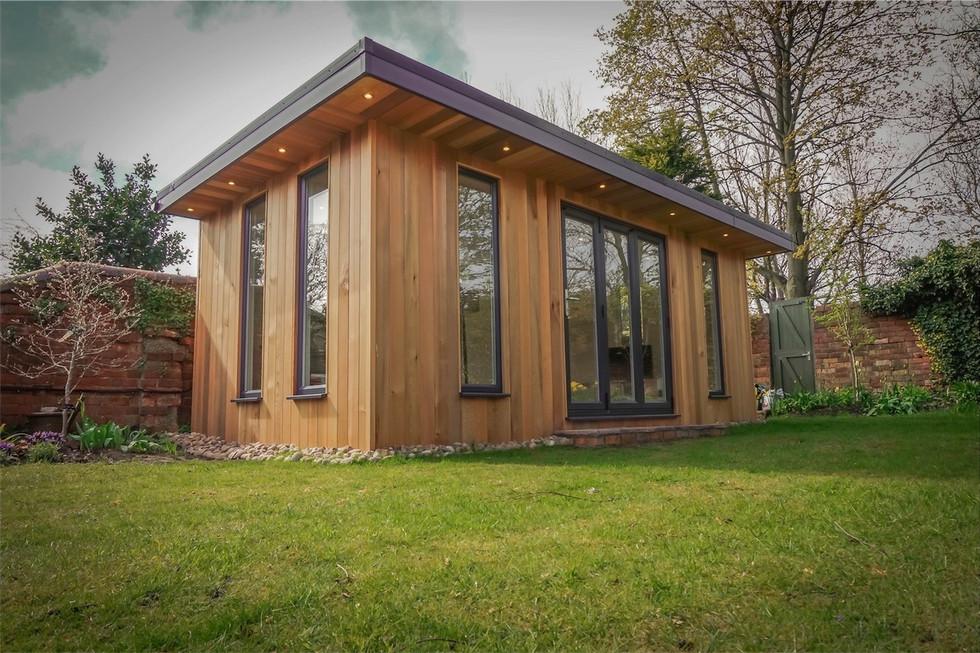 Bespoke garden room in Lanchesster.