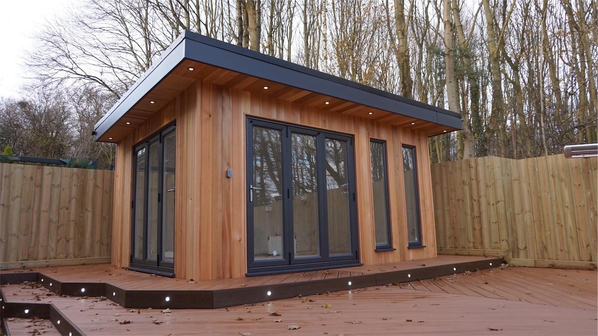 Bespoke garden room in Fatfield, Washington, Tyne & Wear.