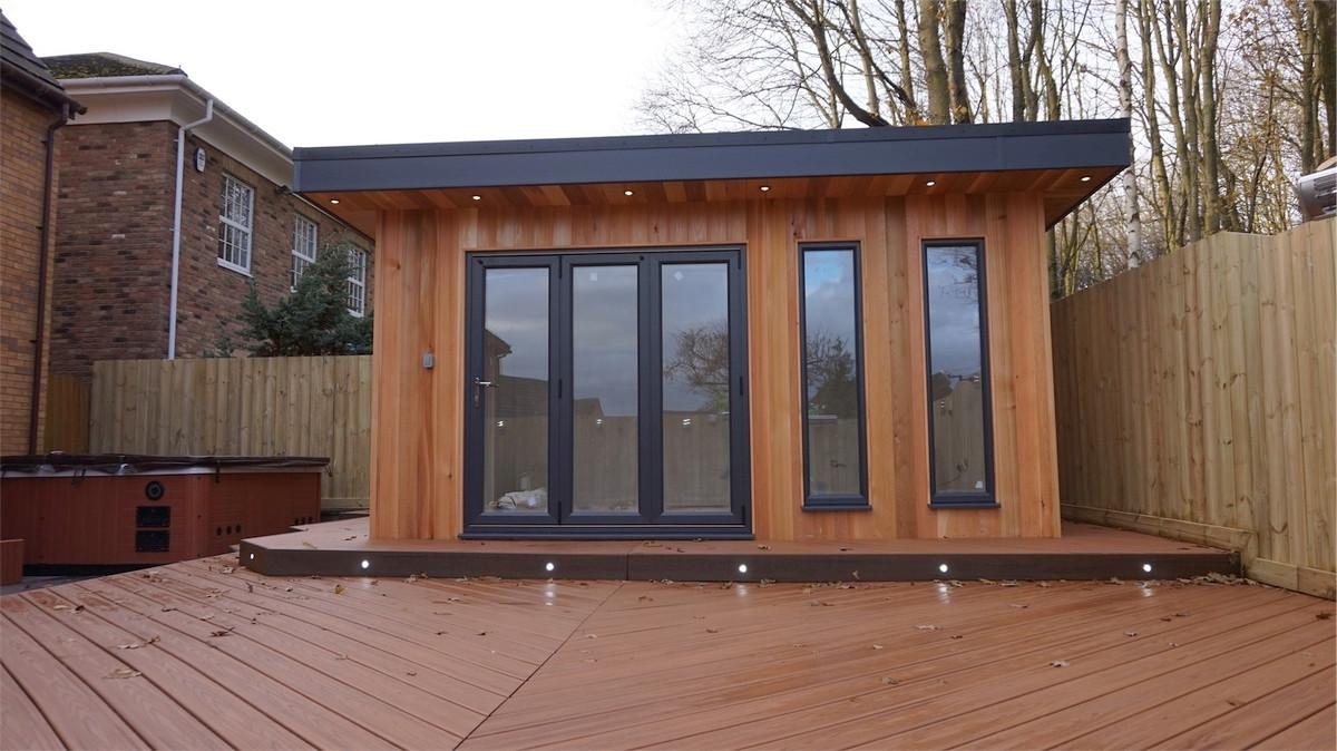 Bespoke garden room in Fatfield, Washington,Sunderland, Tyne & Wear.