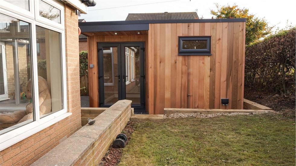 Gardenroom & Trex decking in Prudhoe, Newcastle