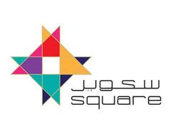 شعار سكوير للدعاية والاعلان  square advertising  في نظرية تكوين المربع عبارة عن دمج مثلثين وتوظيف فك