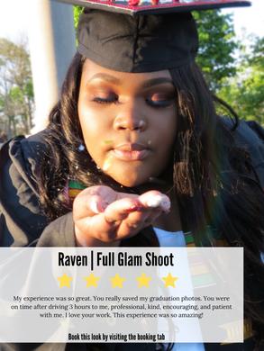 Full Glam Shoot