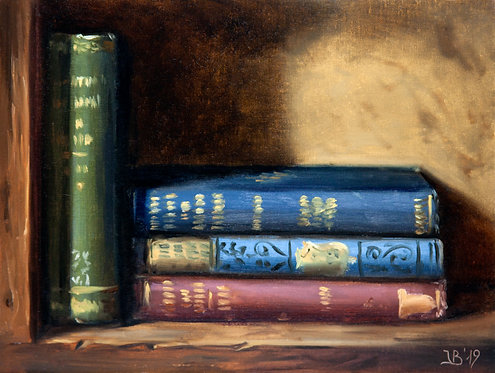 Four Antique Books