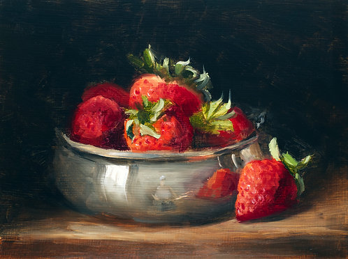 Strawberries and Silver