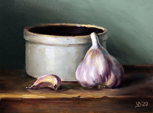 Garlic and Crock