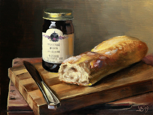 Jam and Baguette