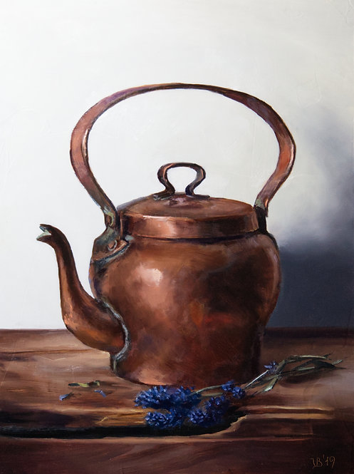 Copper Kettle and Lavender