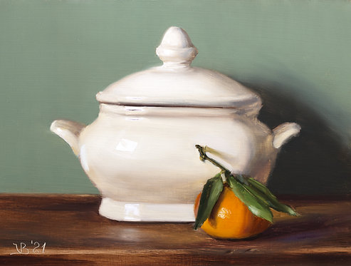 Tureen and Clementine