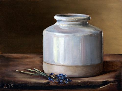 Vase and Lavender