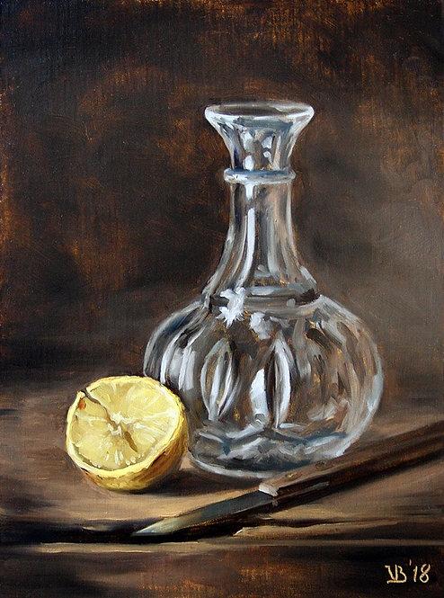 Lemon And Glass