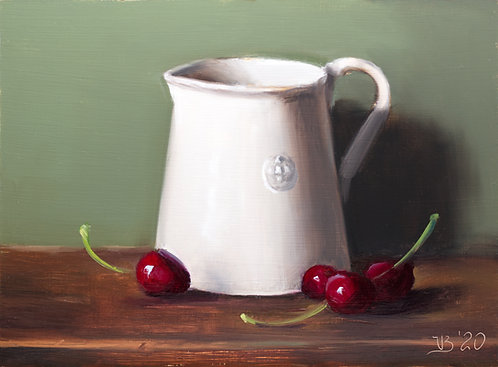 Alix Pitcher and Cherries
