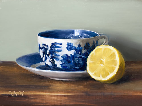Blue Willow and Lemon