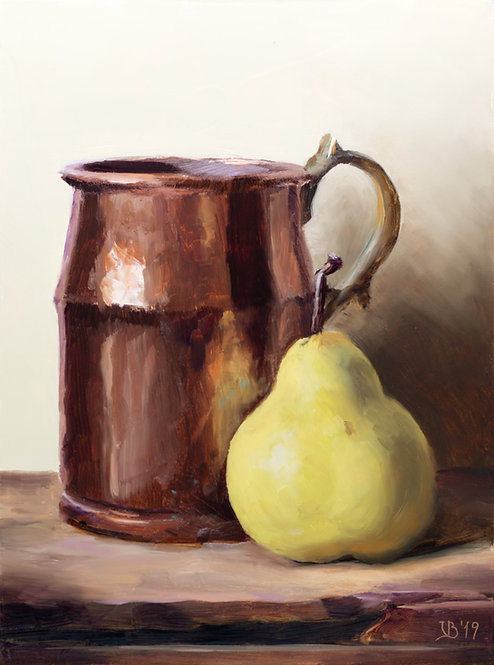 Copper and Pear #2