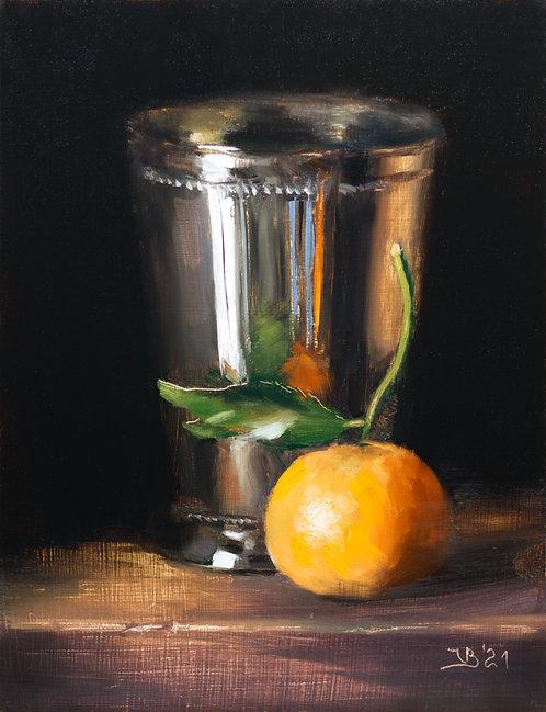 Silver and Mandarin