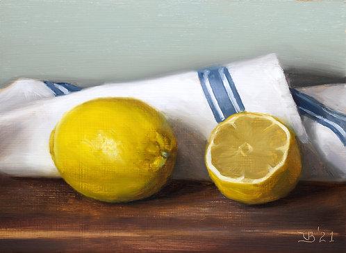 Lemons and Blue