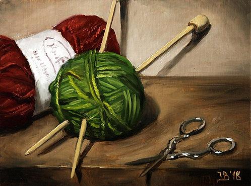 Yarn And Scissors