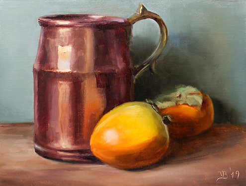 Copper and Persimmons