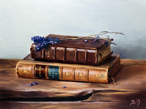 Books and Lavender