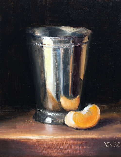 Silver Cup and Clementine