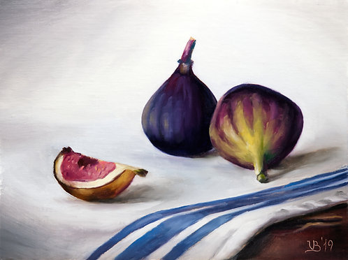Figs on a White Towel