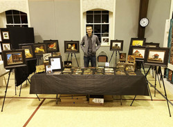 Vitaly's Display at the Show