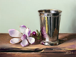 Silver Cup and Magnolia