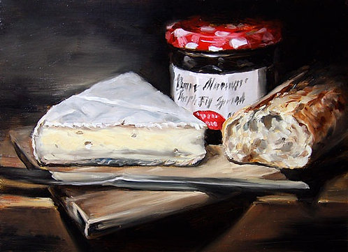 Brie And Bonne Maman