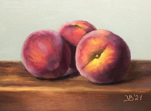 First Peaches of the Season