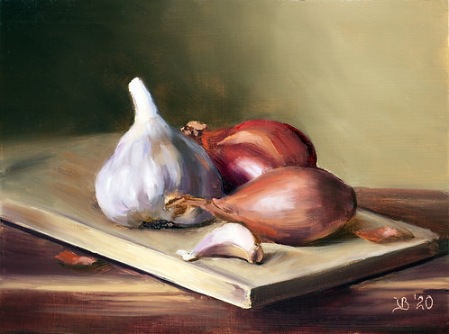 Shallots and Garlics
