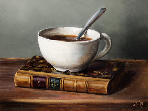 Old Book and Coffee